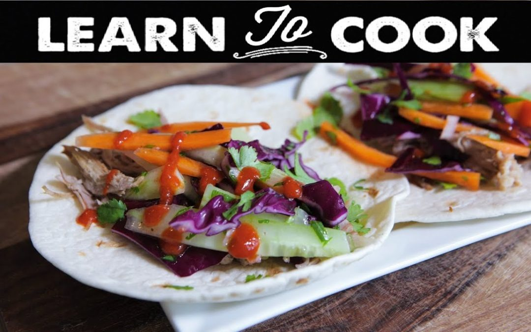 Learn To Cook: How To Make Asian Tacos