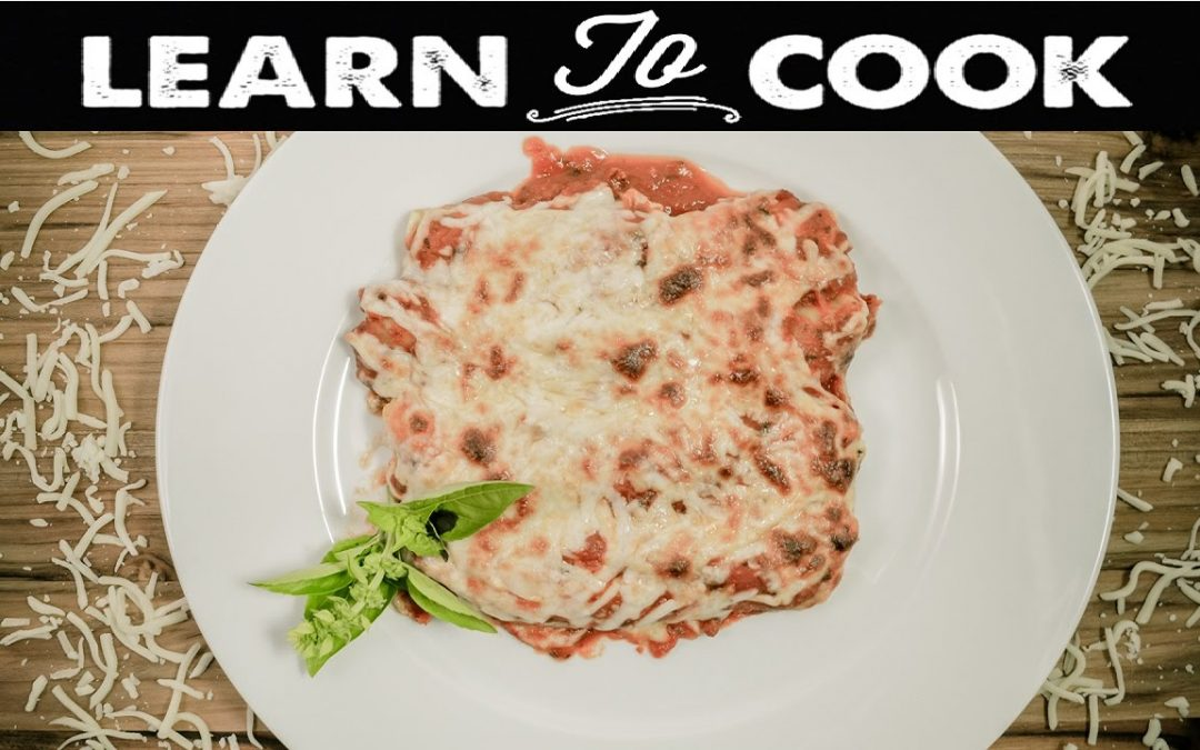 Learn To Cook: How To Make Cannelloni