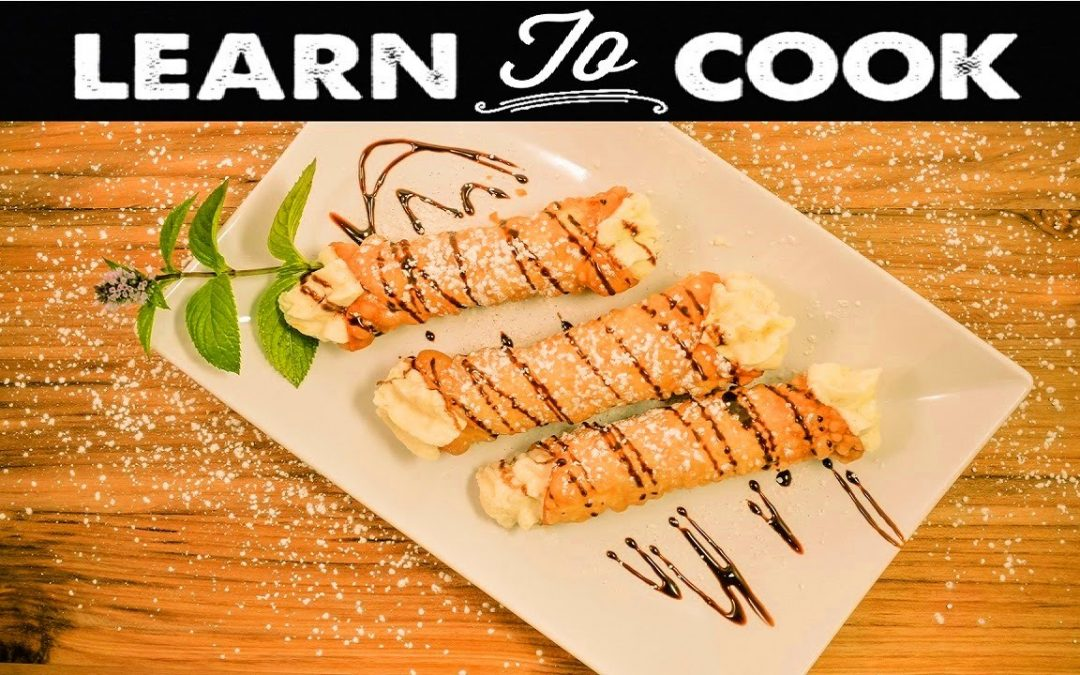 Learn To Cook: How To Make Cannolis