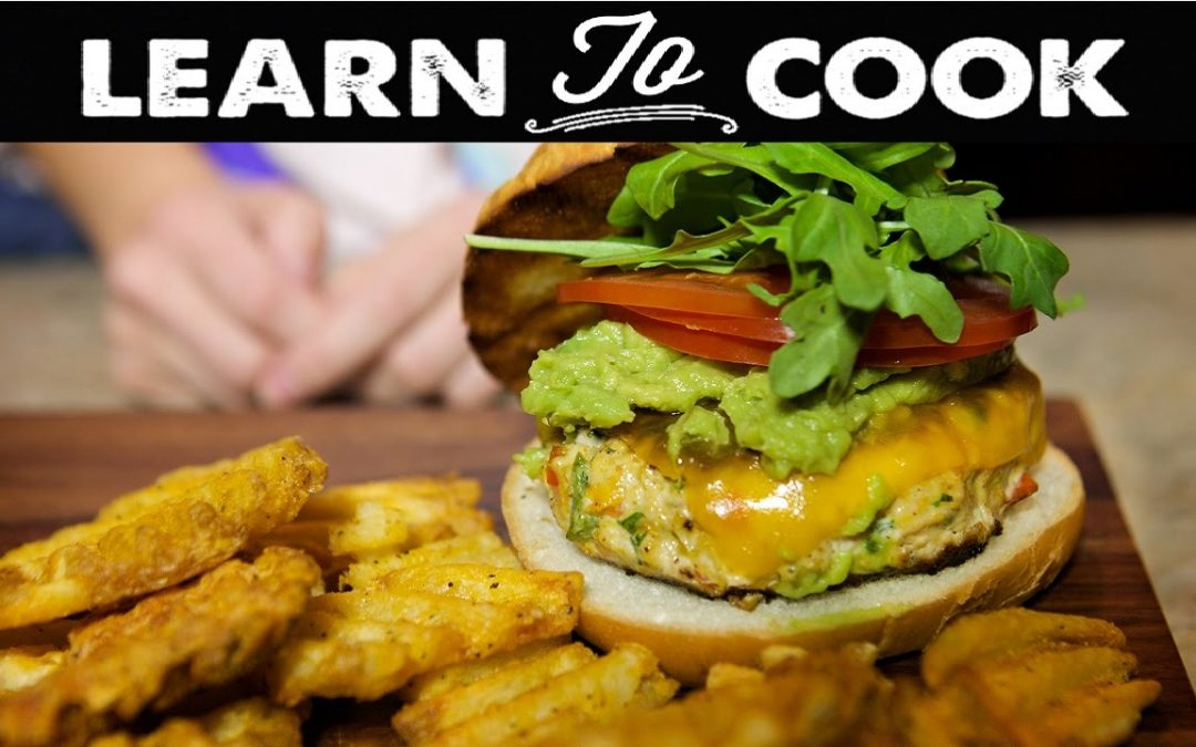 Learn To Cook: How To Make Southwest Turkey Burgers
