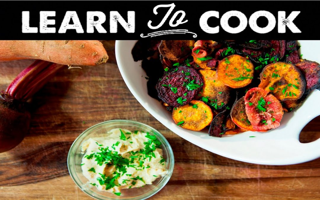 Learn To Cook: How To Make Baked Root Veggie Chips
