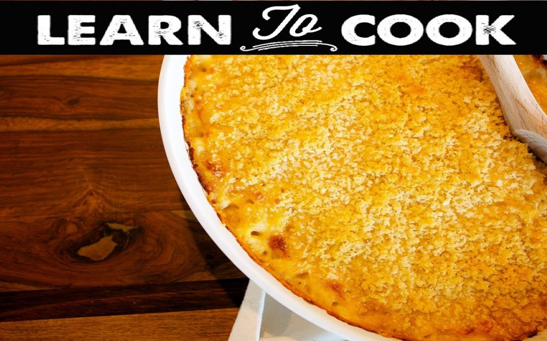 Learn To Cook: How To Make Lobster Mac and Cheese