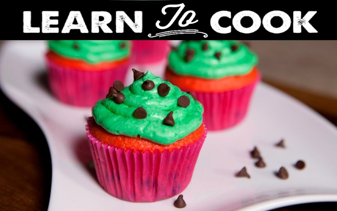 Learn To Cook: Watermelon Cupcakes